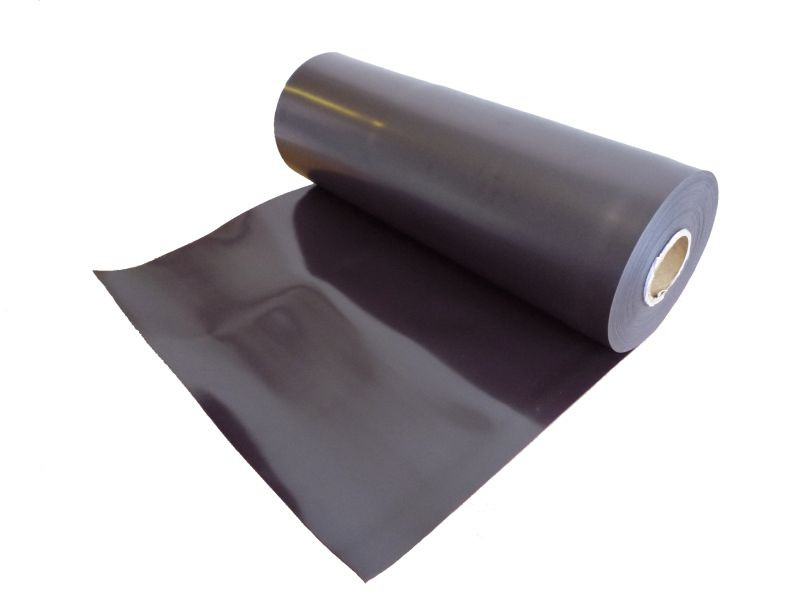 Plain magnetic sheet brown 0,7mm x 30cm x 100cm