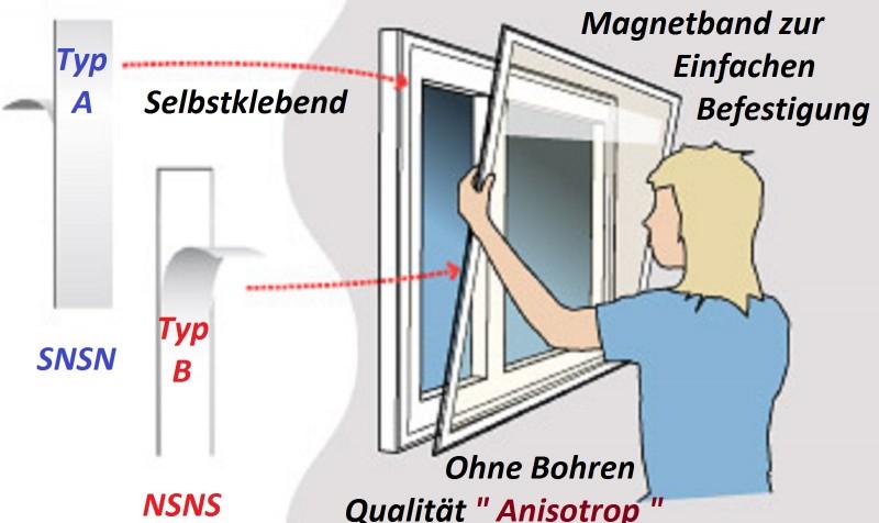fliegengitter magnetband selbstklebend 1 5mm x 12 7mm x. Black Bedroom Furniture Sets. Home Design Ideas