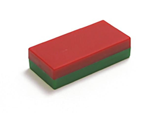 Quadermagnet 50mm X 30mm X 10mm Rot Gr 252 N Ferrit Y35